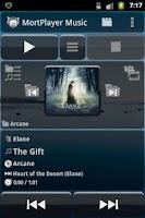 Screenshot of MortPlayer Music