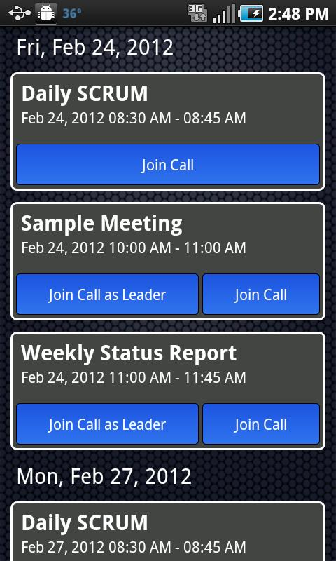 ConferenceBuddy- screenshot