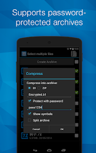 B1 Archiver zip rar unzip v0.9.5