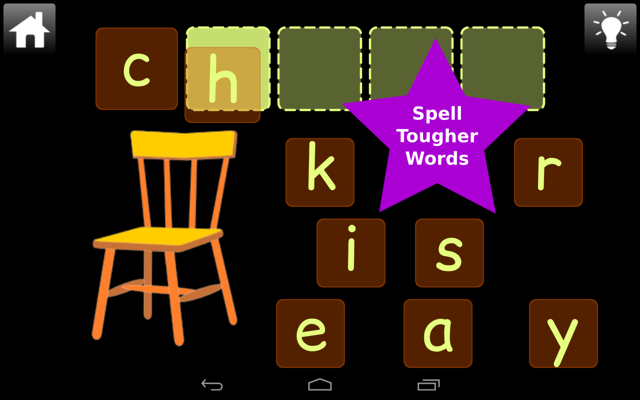 Second Grade Word Play Lite- screenshot