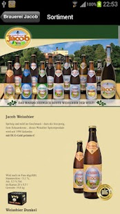 Familienbrauerei Jacob- screenshot thumbnail
