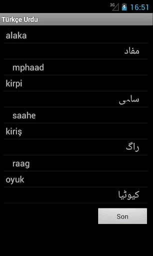 urdu to turkish dictionary free download