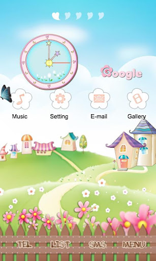 CUKI Theme [3D] Spring Village