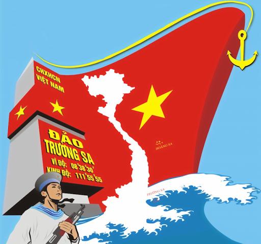 Hoang Sa Swimming