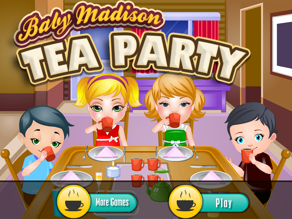 Baby Madison Tea Party- screenshot