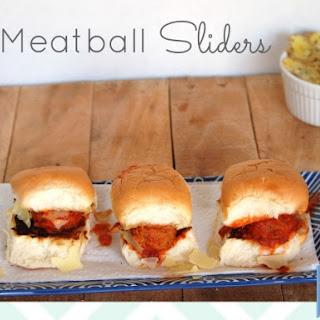 Meatball Sliders.