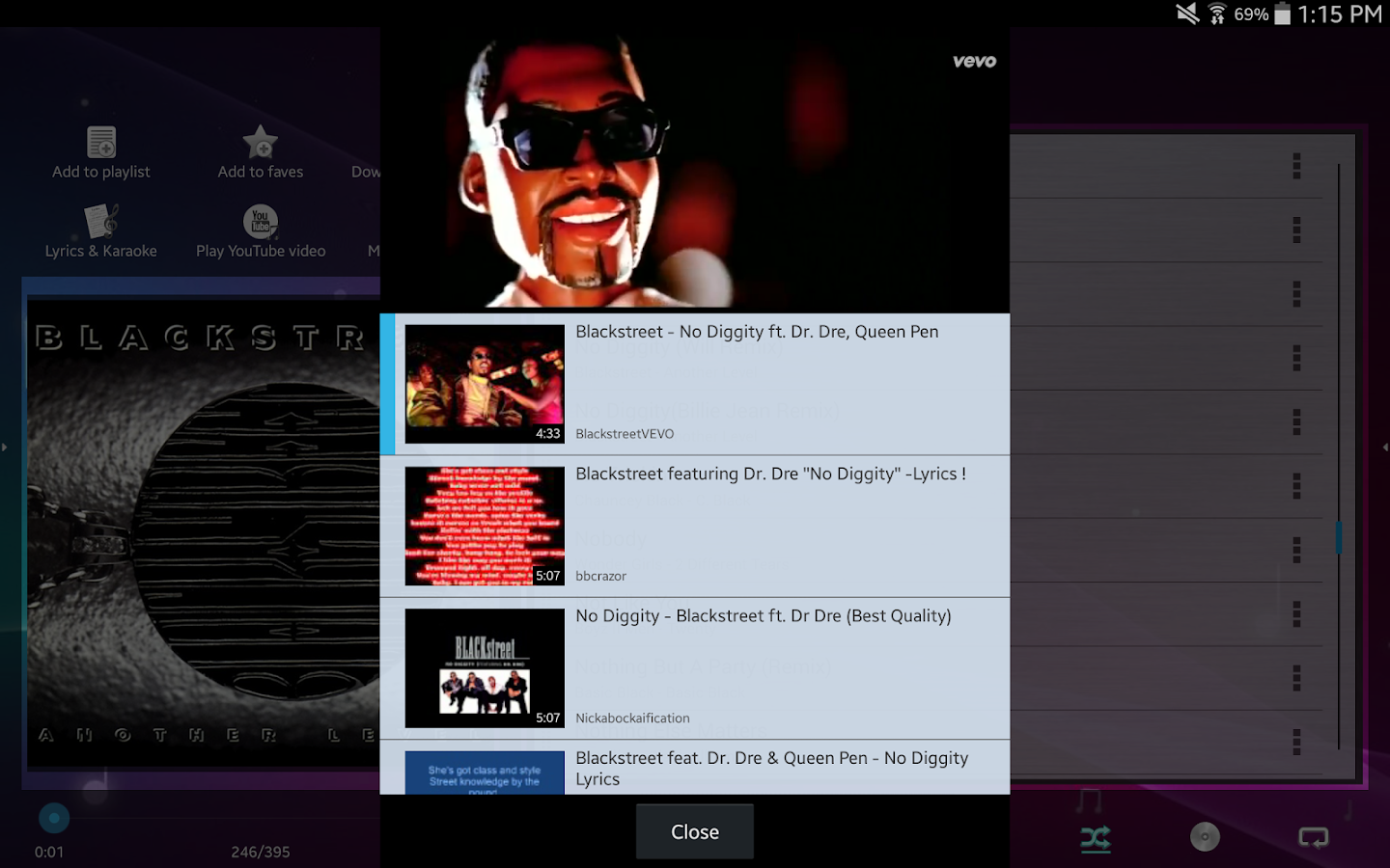 Music Player (Remix) - screenshot
