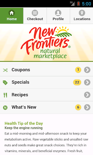 New Frontiers Natural Market