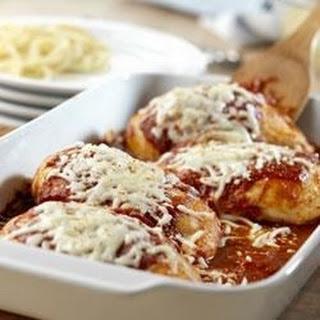 Crispy Chicken Parmesan.