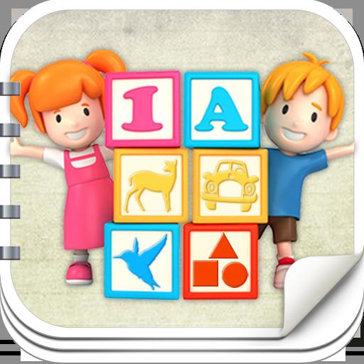 孩子學齡前的遊戲ABC付出 教育 App LOGO-硬是要APP