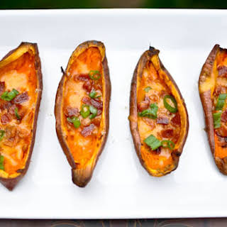 Savory Sweet Potato Skins.