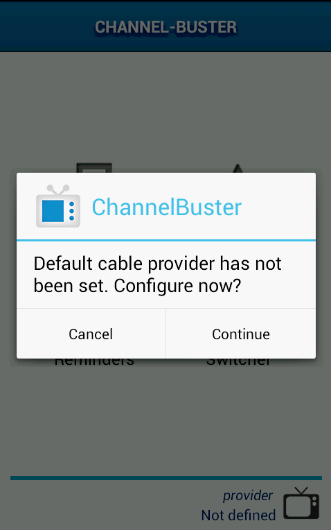 Channel Buster- screenshot