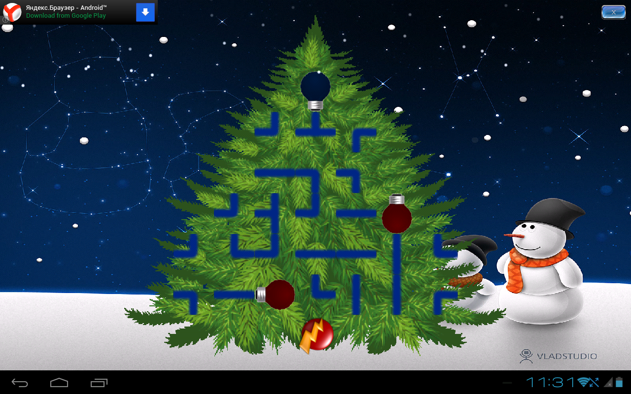 Xmas Tree Light Up- screenshot