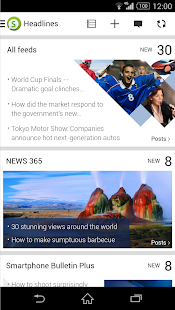 Socialife News: My RSS News - screenshot thumbnail