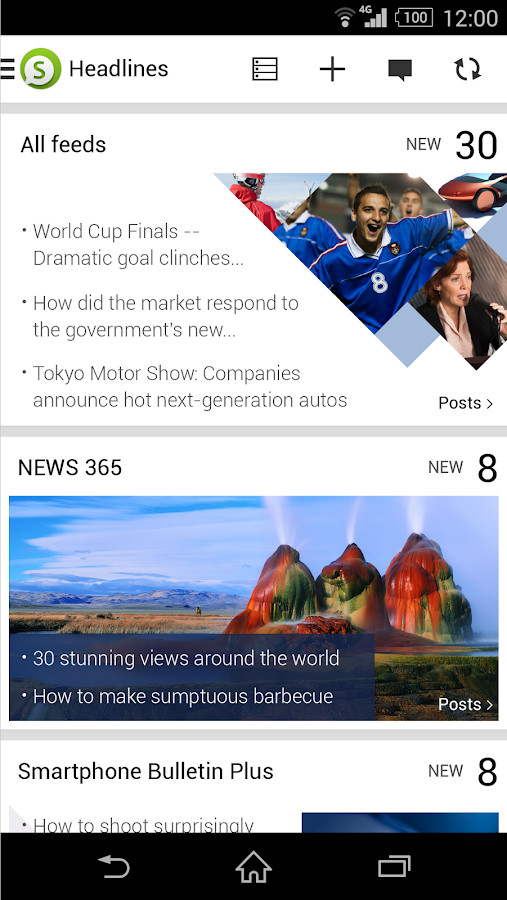 Socialife News: My RSS News - screenshot