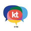 ktok / k•tok / kik talk icon