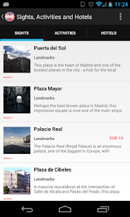 Holidayen Madrid Guide- screenshot thumbnail