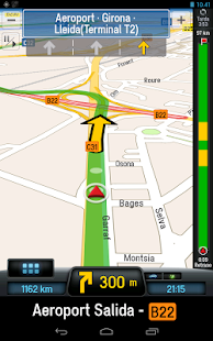 CoPilot Premium Iberia GPS App - screenshot thumbnail