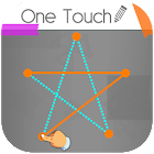 One Touch Draw: Quick Drawing to Connect Two Dots icon