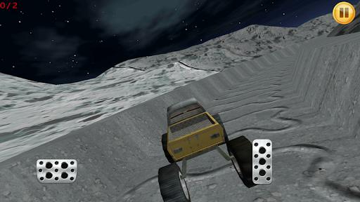 Monster Truck On The Moon