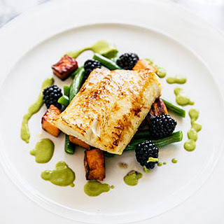 Pan-Roasted Orange Maple Sablefish
