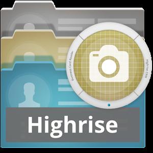 Business card reader highriseapp app business card reader highrise logo app reheart Choice Image