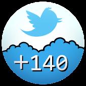 +140 : split tweet for Twitter