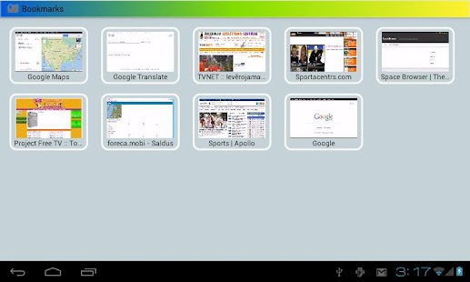 Space Browser LITE - screenshot thumbnail