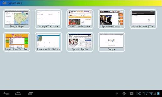 Space Browser LITE - screenshot thumbnail
