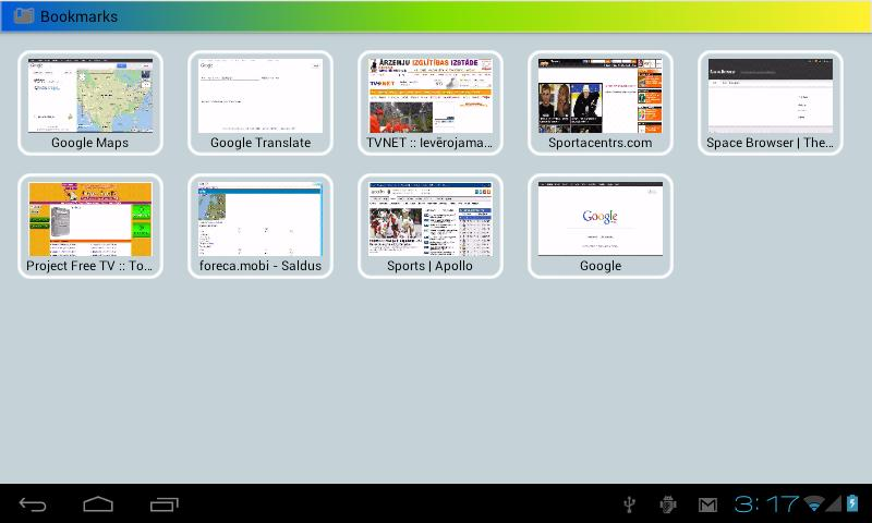 Space Browser LITE - screenshot