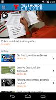 Screenshot of Telemundo Denver