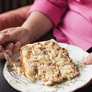 Pecan Cream Cake.