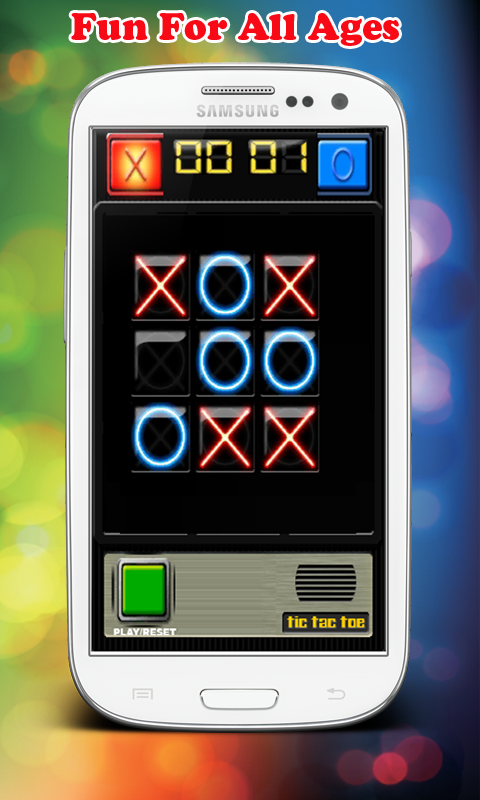 Tic Tac Toe Robot - screenshot
