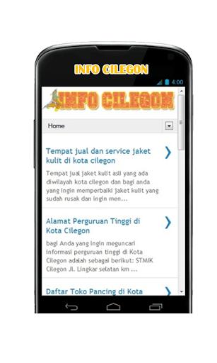 Info Cilegon