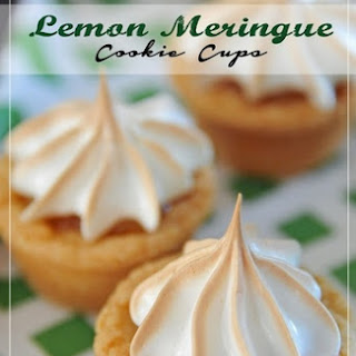 Lemon Meringue Cookie Cups Recipe