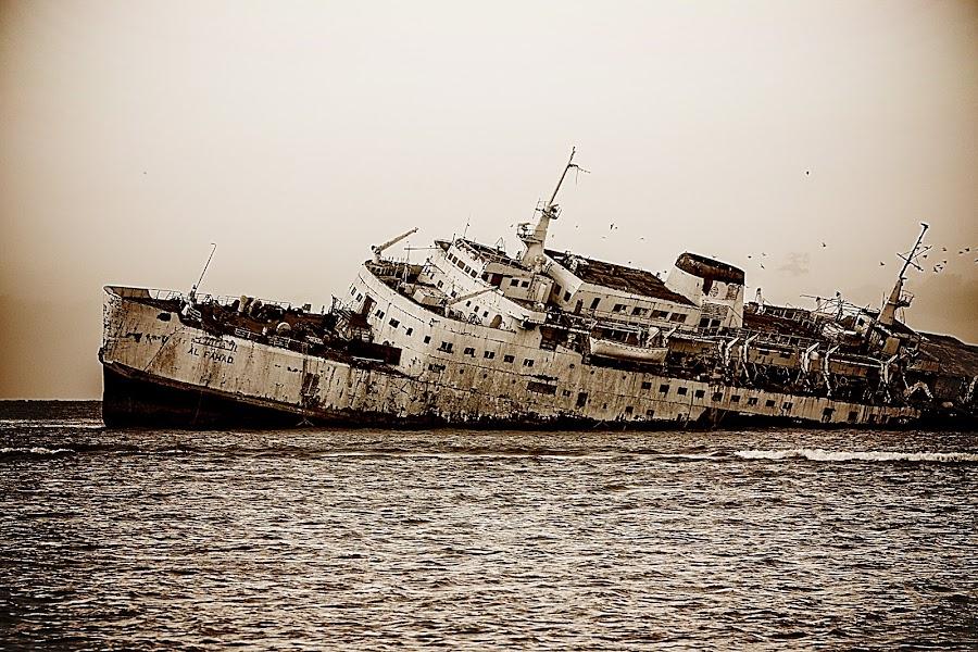 Al Fahad Ship by Ashraf Ahmed Habib - Transportation Boats