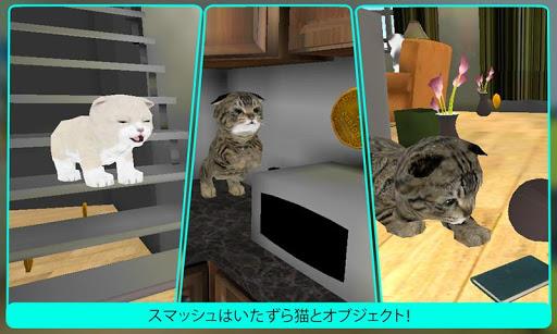 本物のペットの猫3Dシミュレータ