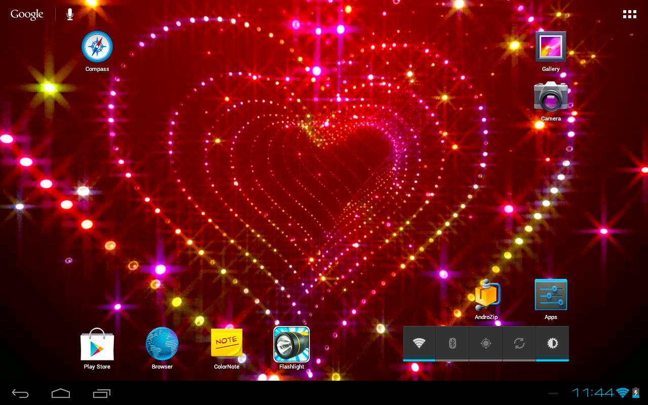 Sparkle Glitter Heart Tunnel- screenshot
