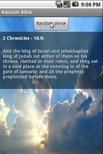 【免費生活App】隨機聖經-APP點子
