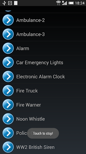 Emergency Alerts Alarms