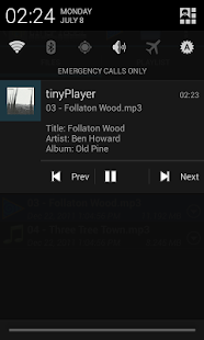 tinyPlayer - screenshot thumbnail