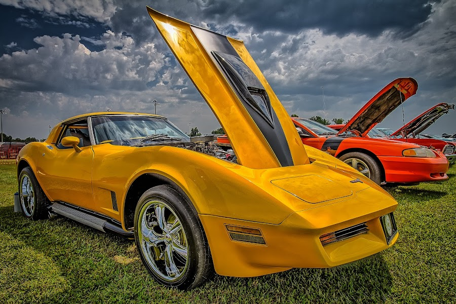 Yellow Vet by Ron Meyers - Transportation Automobiles