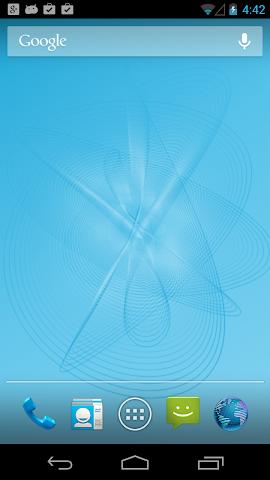 Screenshots for 3D Harmonograph Live Wallpaper