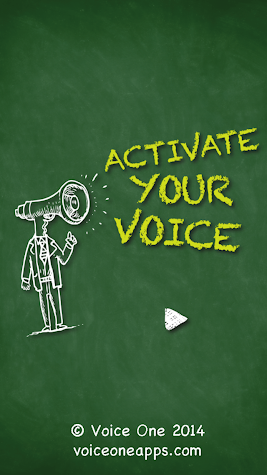 Voice One: Activate Your Voice Screenshot