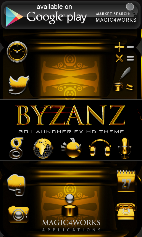 GO Locker Theme Byzanz - screenshot