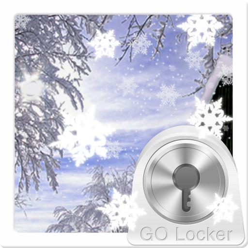 个人化のロッカー冬のテーマをGO LOGO-記事Game