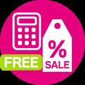 ディスカウント電卓(FREE) icon