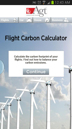 AGT Carbon Calculator