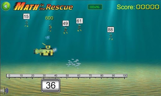Math to the Rescue Game - screenshot thumbnail