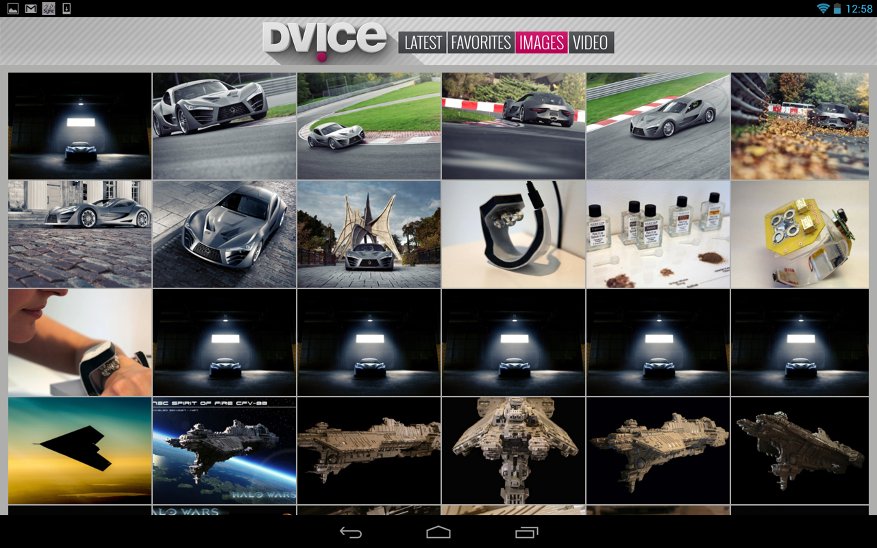 DVICE - screenshot